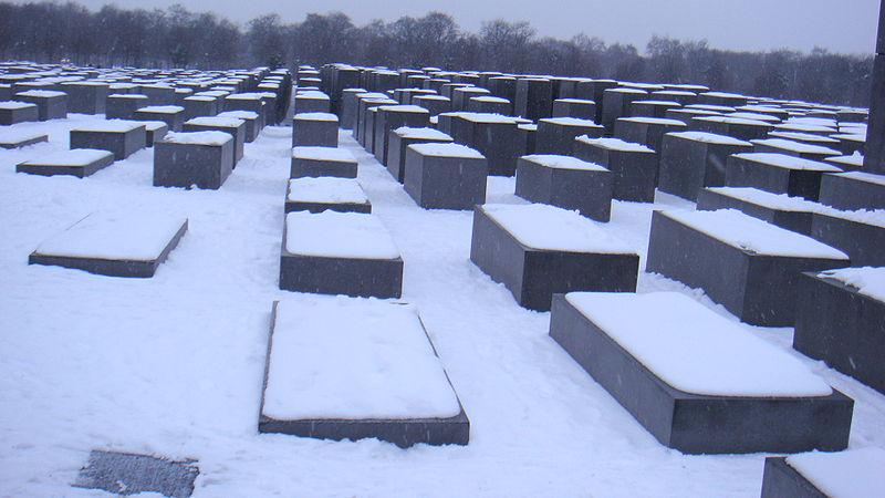 Monumento a los judíos de Europa asesinados, también conocido como Holocaust-Mahnmal o Monumento del holocausto