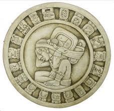 calendario maya blanco