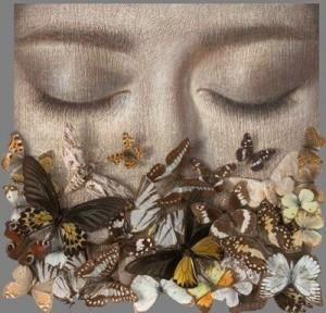 cara mariposa
