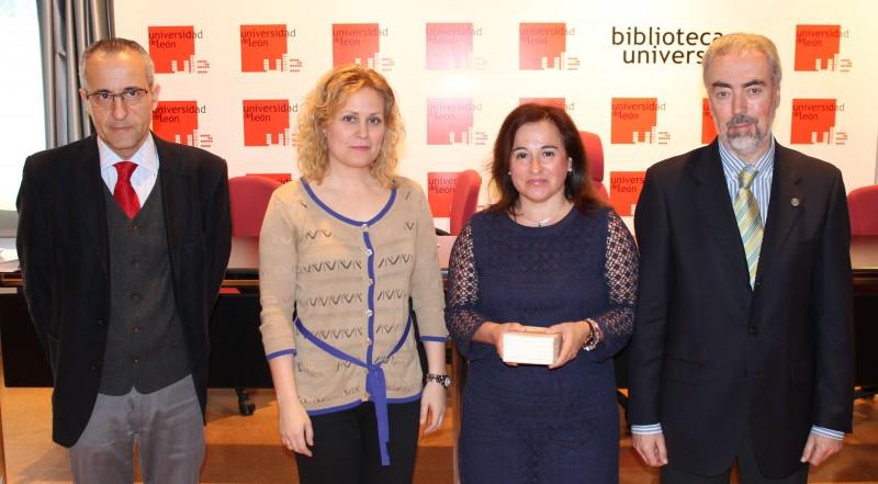 Jesús Nieto, Natalia Álvarez, María Dolores Esteban, Alberto Villena