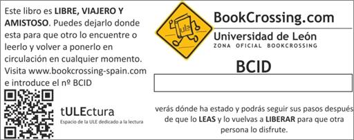 etiqueta bookcrossing