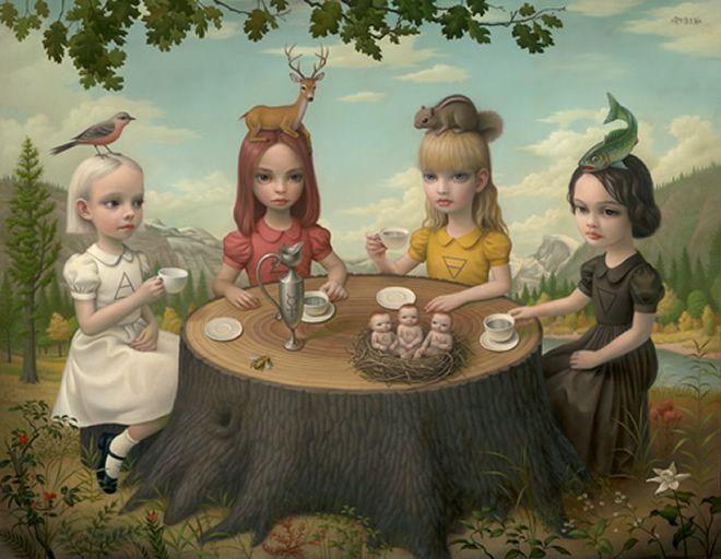 Mark Ryden, Allegory of the Four Elements, 2006