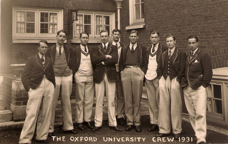 Oxford crew 1931