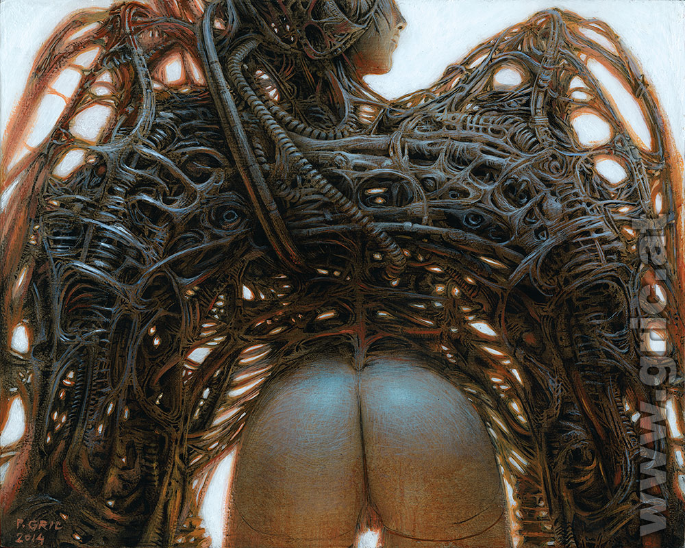 Gynoid Angel III Peter Gric