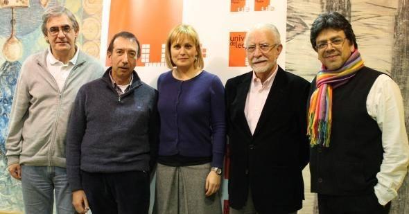Javier Ordiz Vázquez, Tomás Sánchez Santiago, Natalia Álvarez Méndez, José María Merino y Fernando Iwasaki