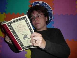 Euphorbia leyendo el Quijote