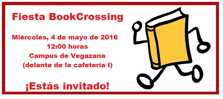 inivtación bookcrossing