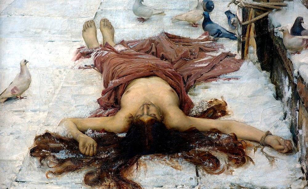 Saint_Eulalia_detail by Waterhouse