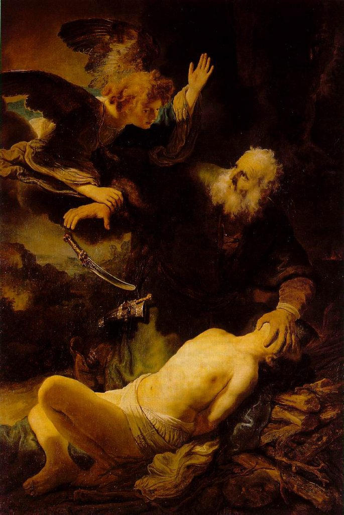 El sacrificio de Isaac (Rembrandt, 1635) Museo del Hermitage, San Petersburgo, Rusia