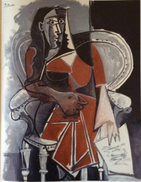 Mujer sentada (Pablo Picasso, 1960)