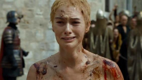 Cersei Lannister en la quinta temporada de Game of Thrones.