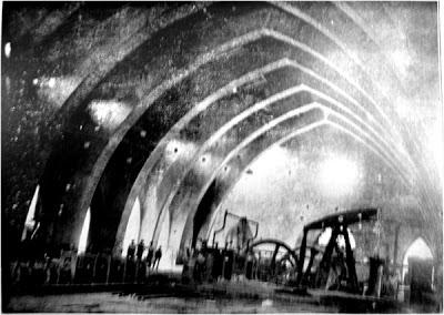 Interior de la Ferrería de San Blas (Sabero, siglo XIX)