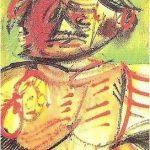 Retrato de Sabino Ordás. Óleo sobre tabla. Álvaro Delgado. Sin fecha. Colección particular.