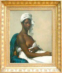"""""""Retrato de una mujer de las Antillas"""" de Marie-Guilhelmine Benoist (1768-1826)."""