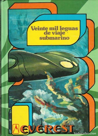 Veinte mil leguas de viaje submarino / Julio Verne (Madrid : Everest, D.L. 1983)