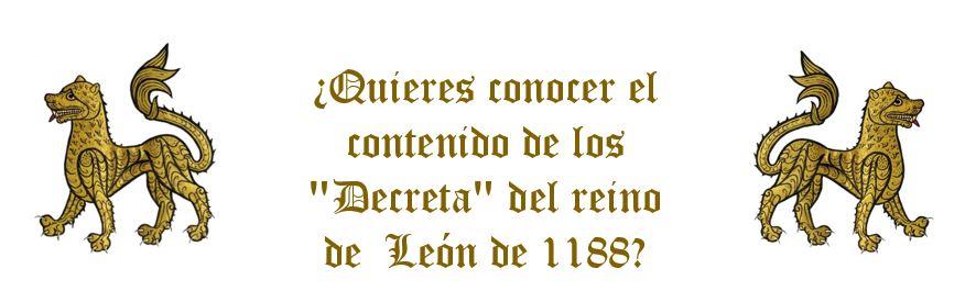 Decreta reino de León