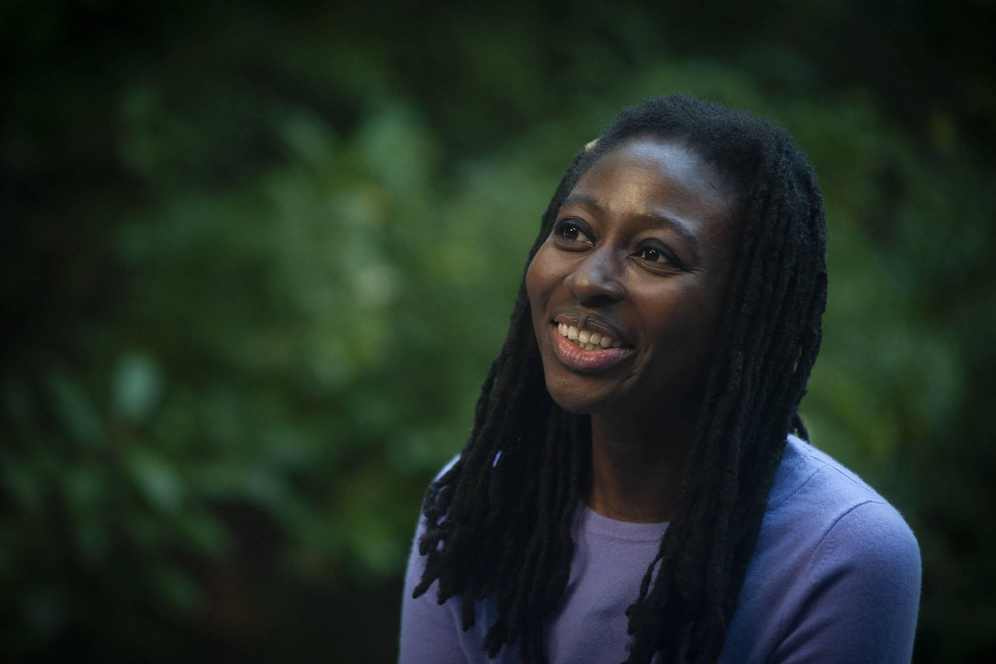 Helen Oyeyemi (Foto grafìa de Juan Barbosa para El País)