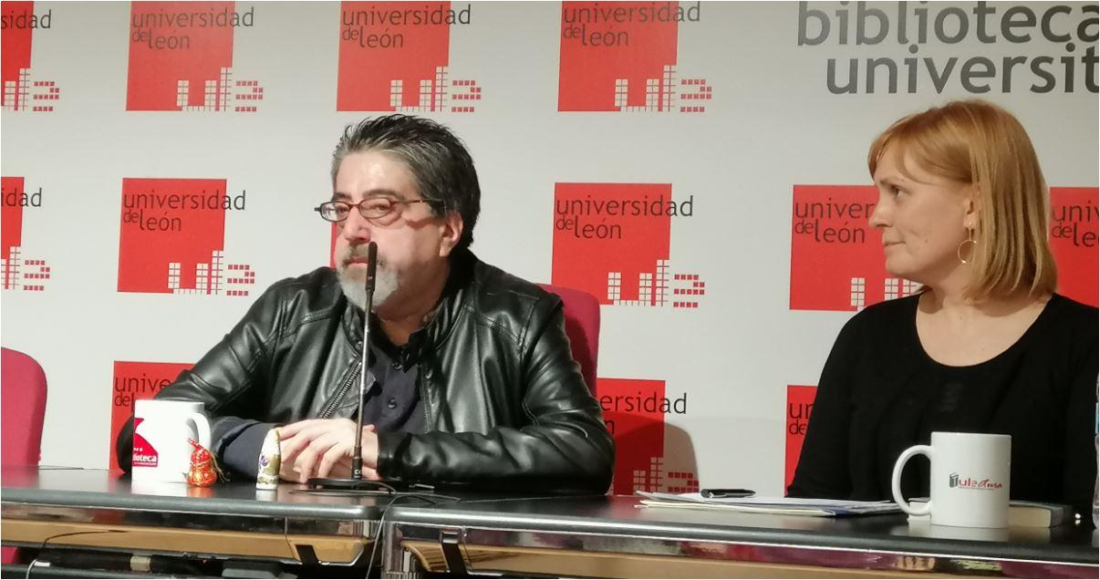 Luis García Jambrina y Natalia Álvarez Méndez