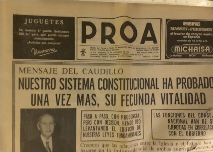 Proa —renombrado La Hora Leonesa en 1975— fue un periódico español editado en León entre 1936 y 1984.