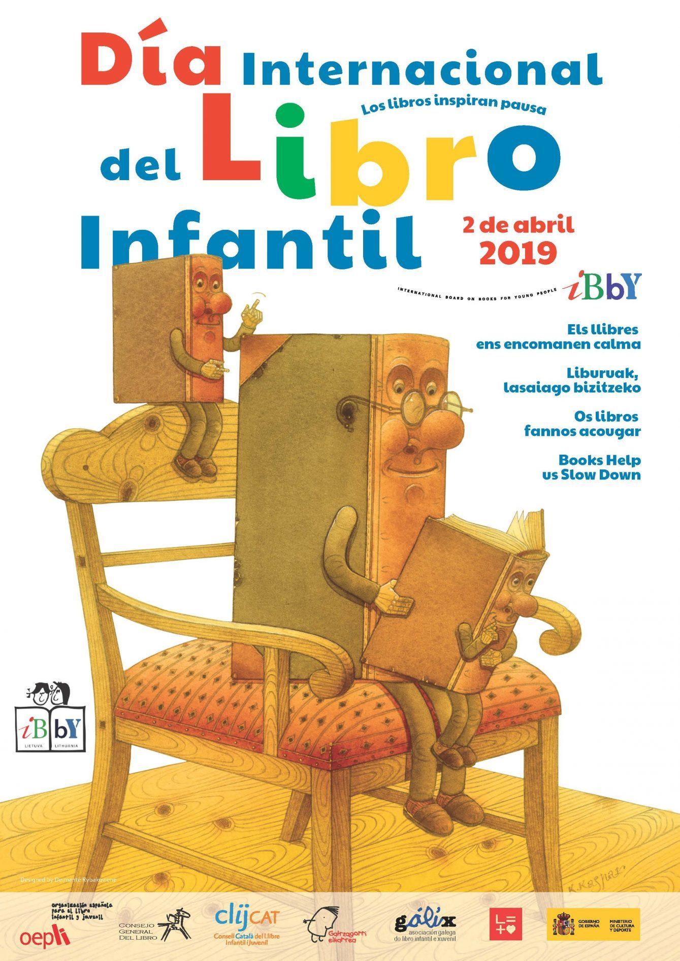 Cartel Día Internacional del Libro Infantil 2019